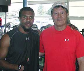 Marlon McCree used Phil Campbell's technique training during off season training to prepare for the 2008 season with the Denver Broncos. See  article:  Denver Broncos safety McCree doesn't hit pause button